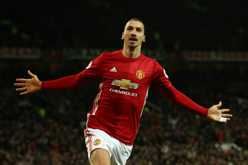 Zlatan starred at Manchester United too