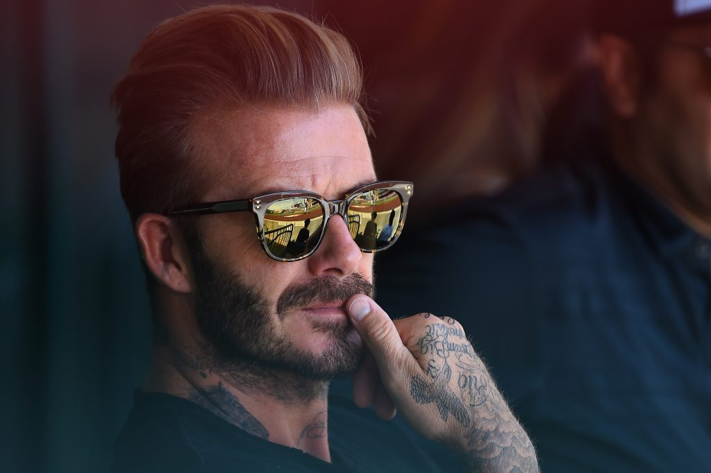 David Beckham is one of the biggest stars in the football world
