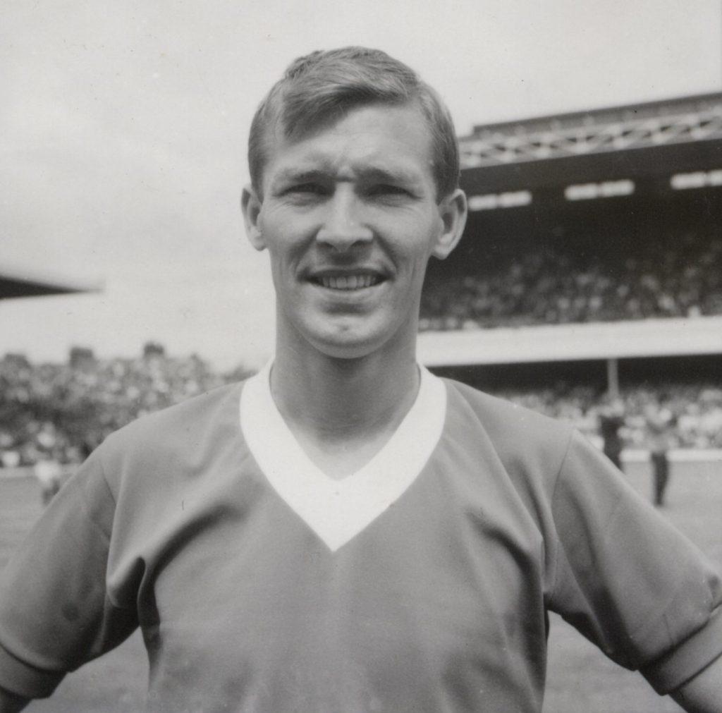 Sir Alex Ferguson during his playing days