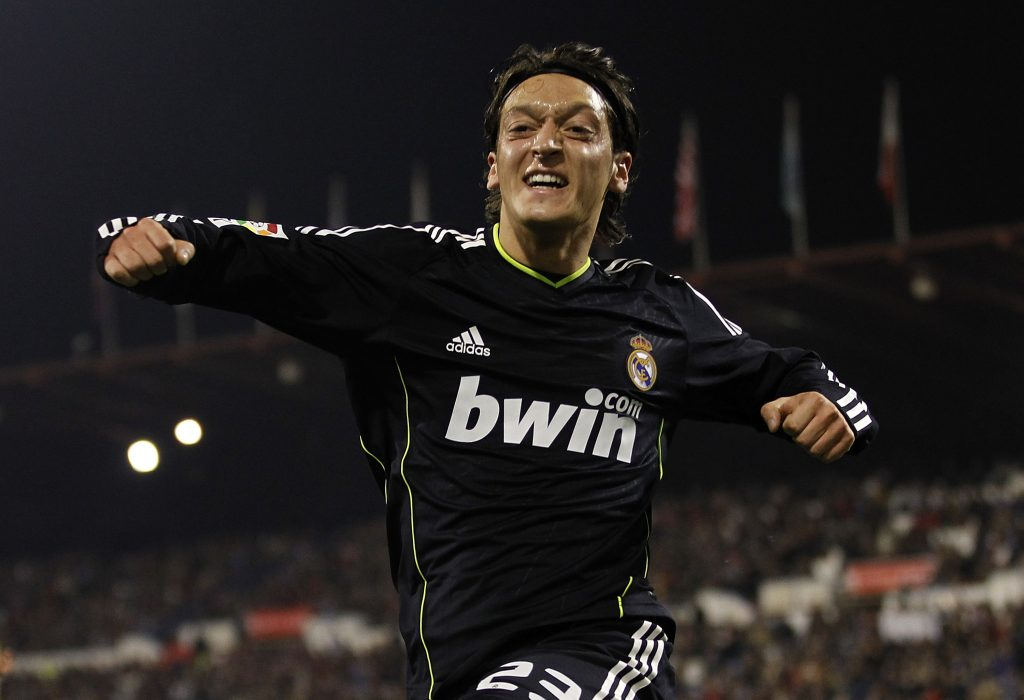 Mesut Ozil excelled at Real Madrid