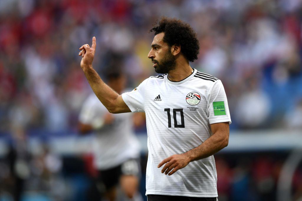 Mohamed Salah is one of Egypt's greatest ever players