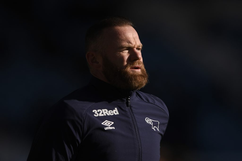 The current team of Wayne Rooney is Derby County