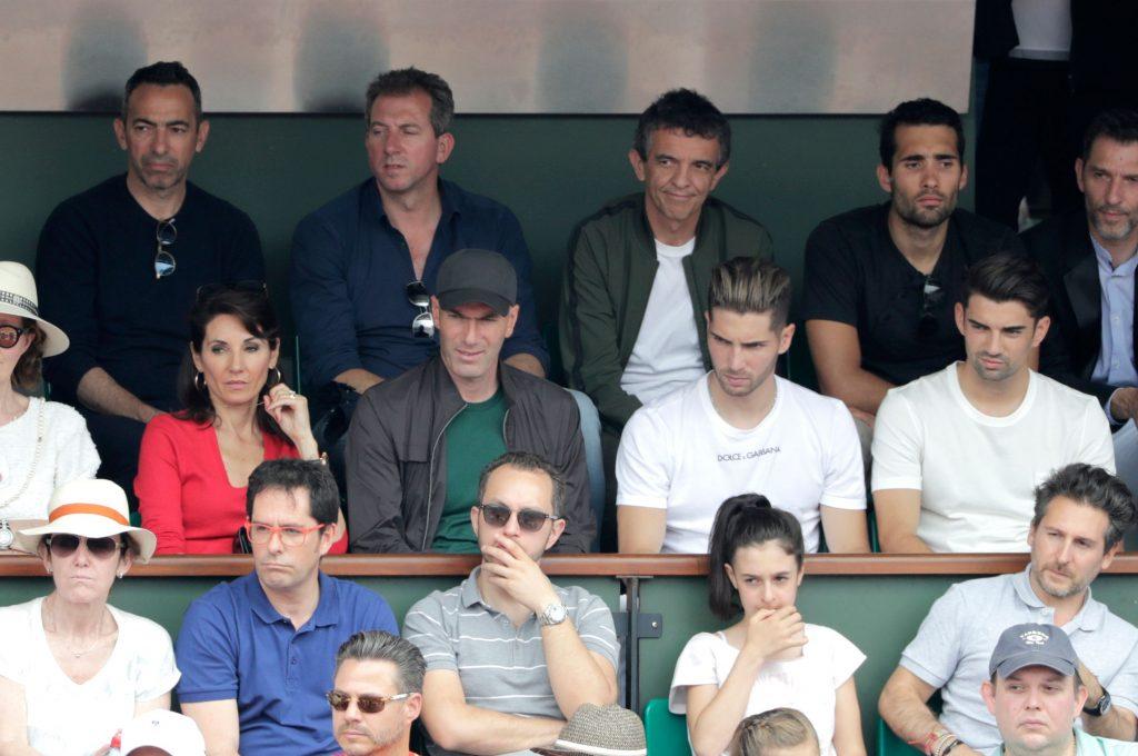 Zidane and his children