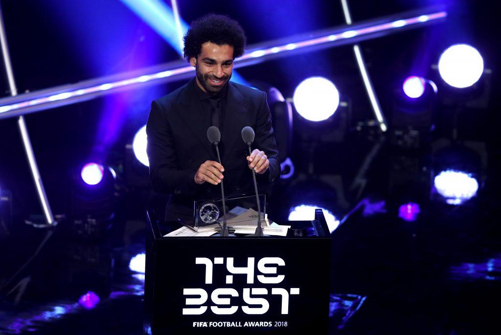 Salah has won several awards during his time at Liverpool
