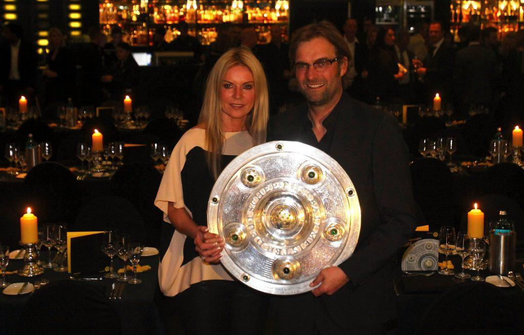 Jurgen Klopp with his wife Ulla