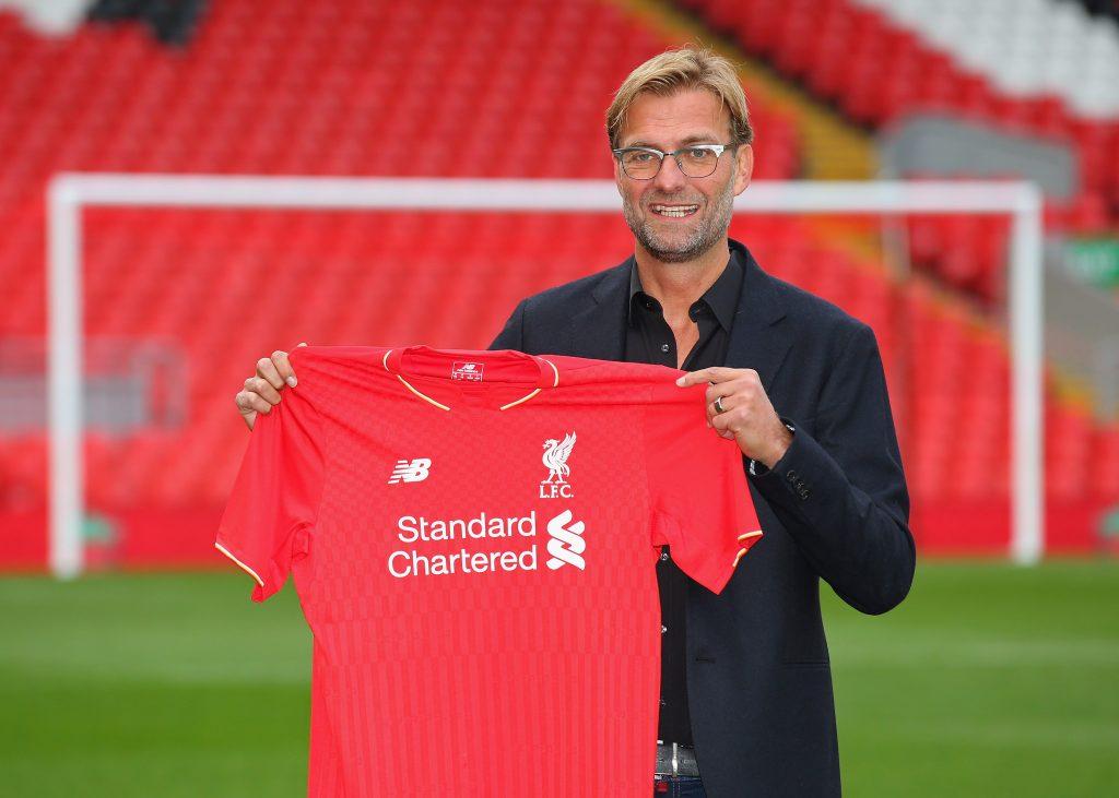 Jurgen Klopp after joining Liverpool