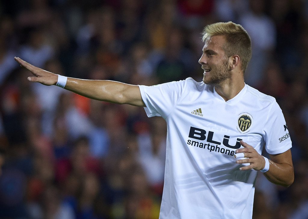Uros Racic has been with Valencia since 2018 (Getty Images)