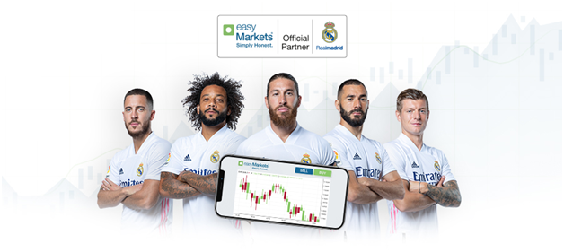 Real Madrid and easyMarkets