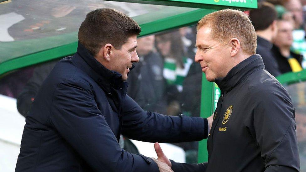 Steven Gerrard and Neil Lennon to battle for Doughty (Getty Images)