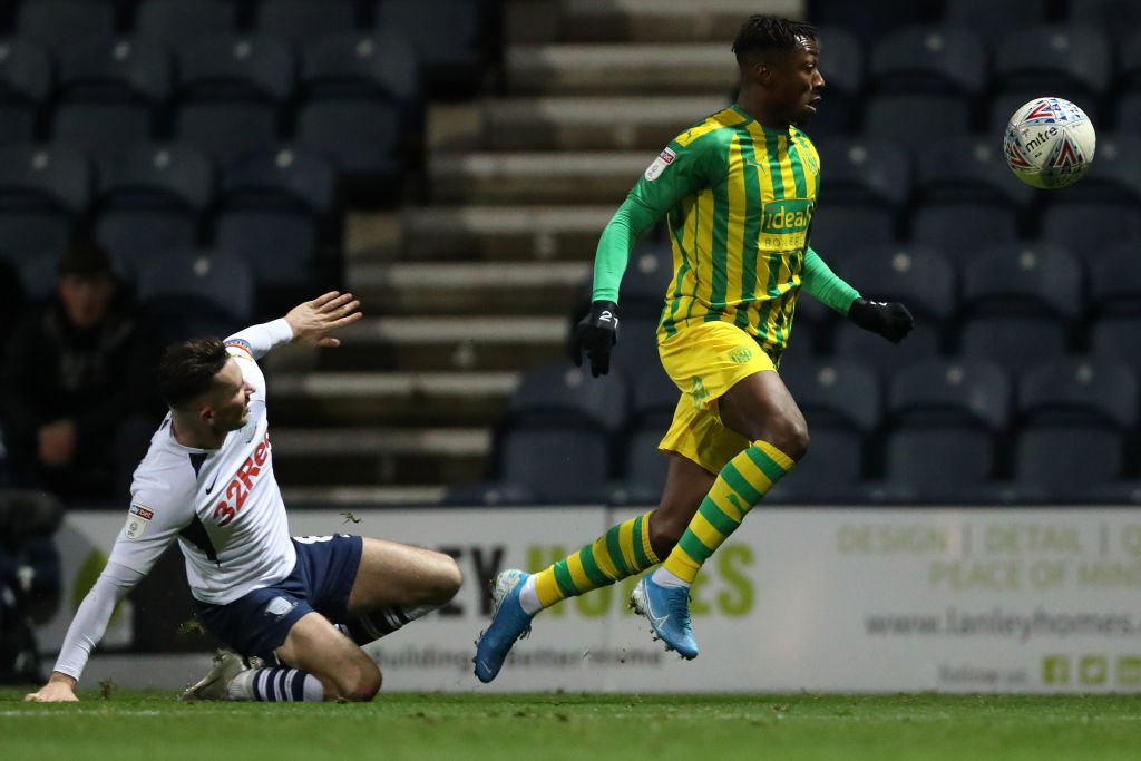 Celtic target Kyle Edwards (R) in action for West Brom (Getty Images)
