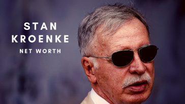 Stan Kroenke is the owner of Arsenal and has a huge net worth too