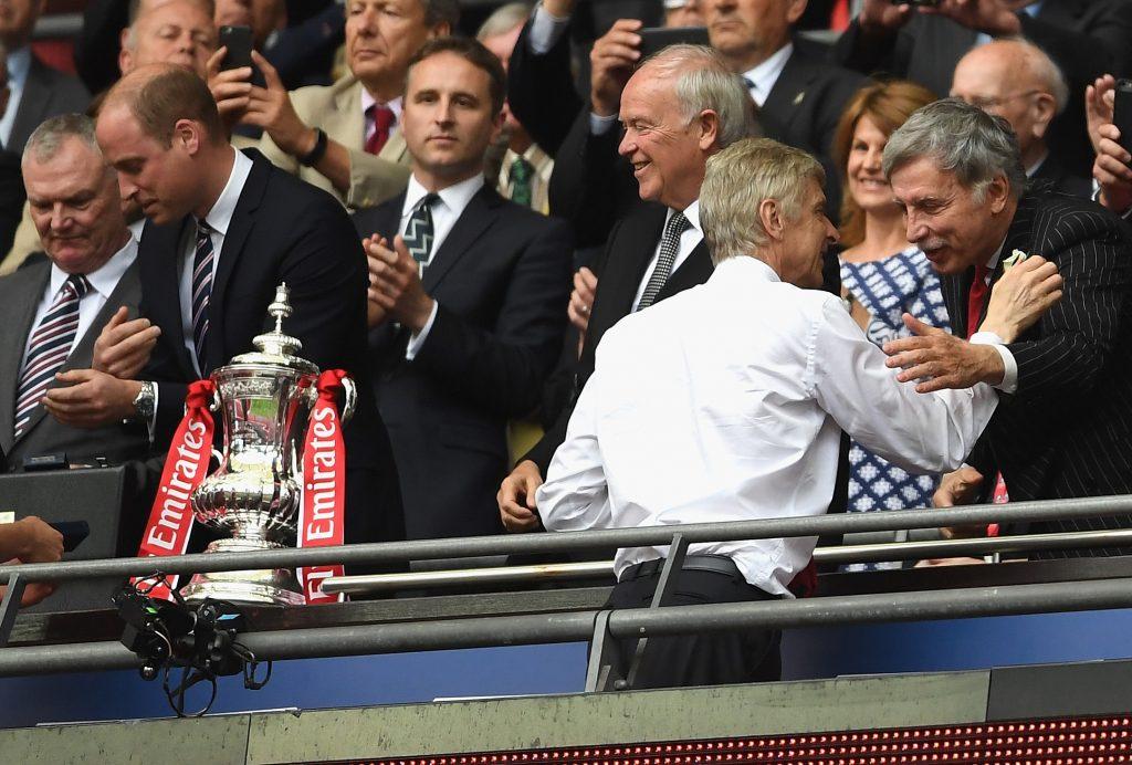 Stan Kroenke is a bit of a divisive figure for Arsenal fans
