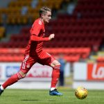 PERTH, SCOTLAND - JULY 08: Scott Wright of Aberdeen in action during the Pre-Season Friendly between St Johnstone and Aberdeen at McDiarmid Park on July 8, 2018 in Perth, Scotland. (Photo by Mark Runnacles/Getty Images)
