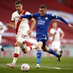 Leicester City against Southampton. (imago Images)