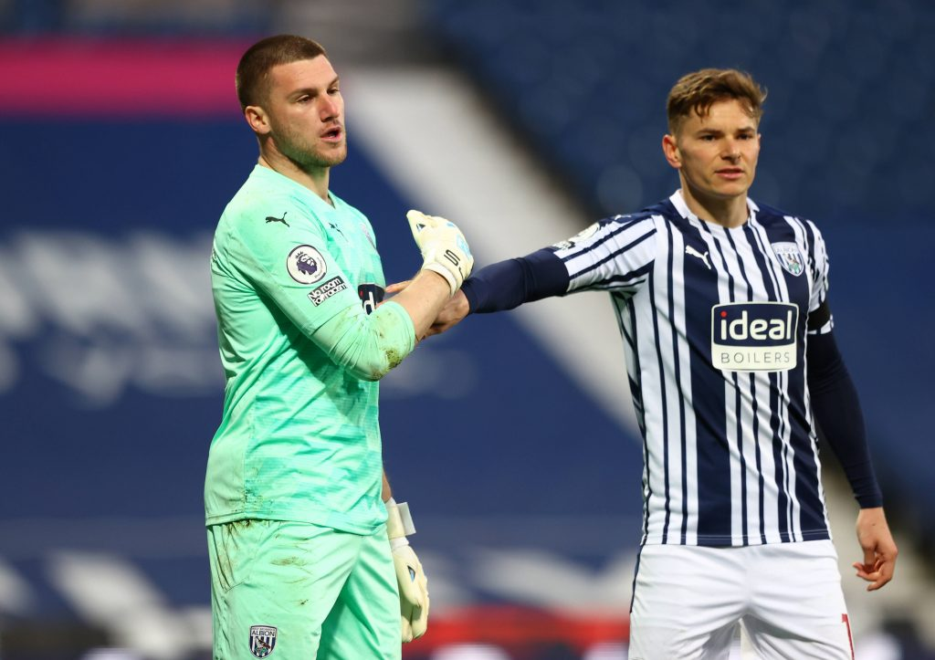 Sm Johnstone is a silver lining for West Brom in a bleak season for their defence. (imago Images)