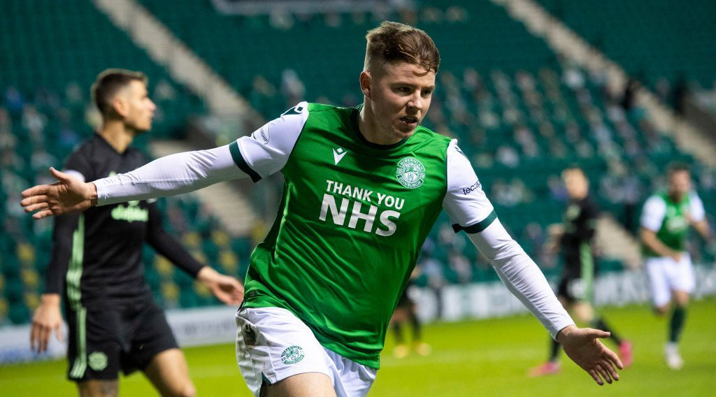 Kevin Nisbet enjoyed an impressive debut season with Hibs (GETTY Images)