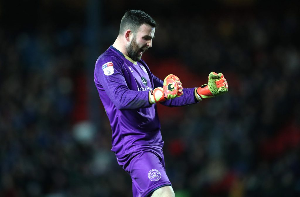 Liam Kelly left QPR for Motherwell in January (GETTY Images)