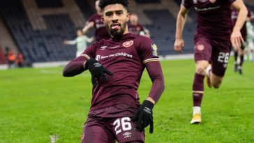 Josh Ginnelly has signed for Hearts on a permanent deal