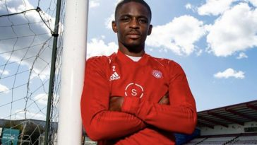 Hakeem Odoffin signed for Hamilton Academical last year (Twitter)