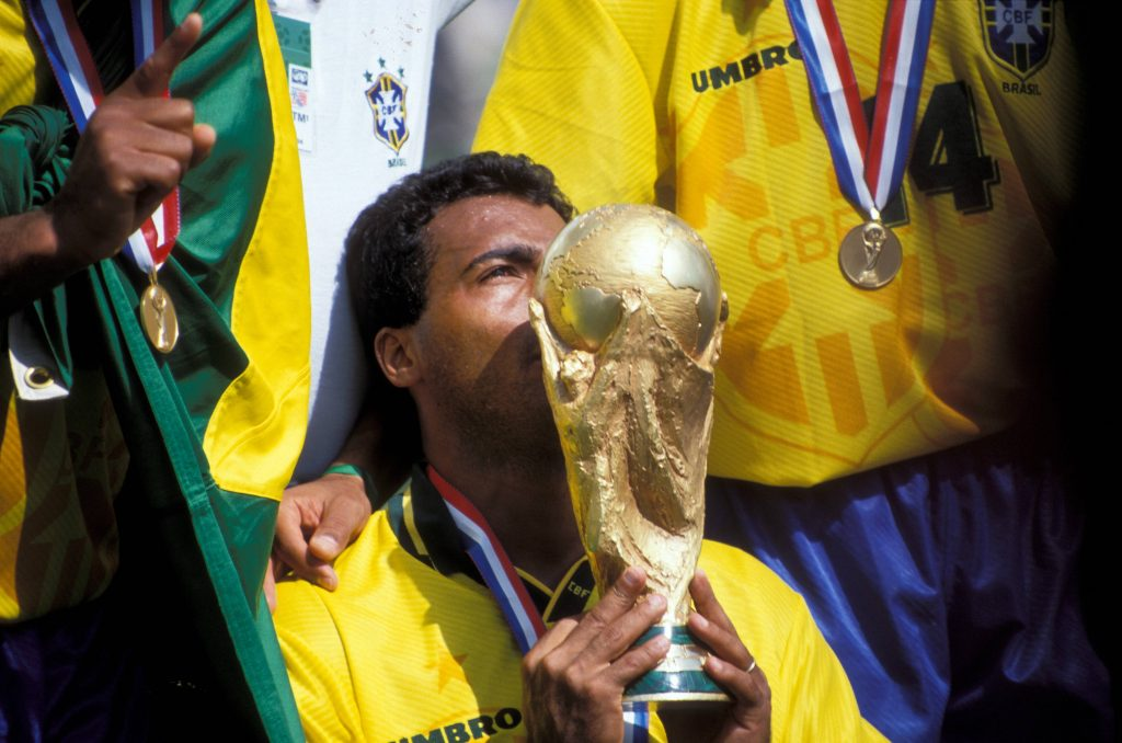 Romario makes it into our list of Top 10 Best Football Players of All Time.