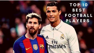 Top 10 Best Football Players Messi Ronaldo maradona